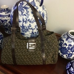 Fendi Borsa due Manici Zucchino-FLASH SALE